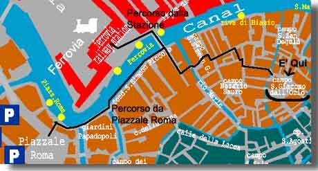 Mappa Campo San Giacomo.